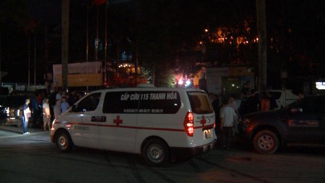 2 người tử vong, 13 người đi cấp cứu sau vụ cháy tòa nhà dầu khí Thanh Hóa - Ảnh 5.
