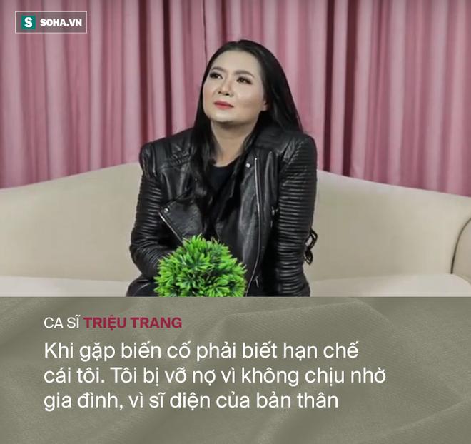 Mối tình với đại gia khiến ca sĩ Triệu Trang vỡ nợ, hoảng loạn, phải bán cả nhà bố mẹ cho - Ảnh 7.