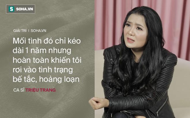 Mối tình với đại gia khiến ca sĩ Triệu Trang vỡ nợ, hoảng loạn, phải bán cả nhà bố mẹ cho