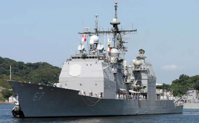 Mỹ điều tàu chiến đi qua eo biển Đài Loan ngay sau khi ký thỏa thuận thương mại, Trung Quốc nói gì?