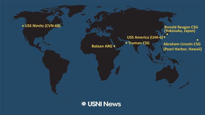 Iran nóng rực: Tàu sân bay, tên lửa Mỹ áp sát, hàng không mẫu hạm Pháp hừng hực vào thế - Ảnh 4.