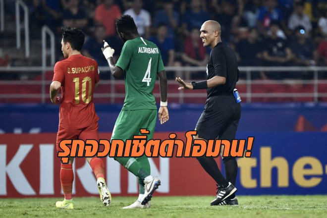 """Trọng tài liệu có """"sai lầm chết người"""" khi thổi phạt penalty với U23 Thái Lan? - Ảnh 1."""