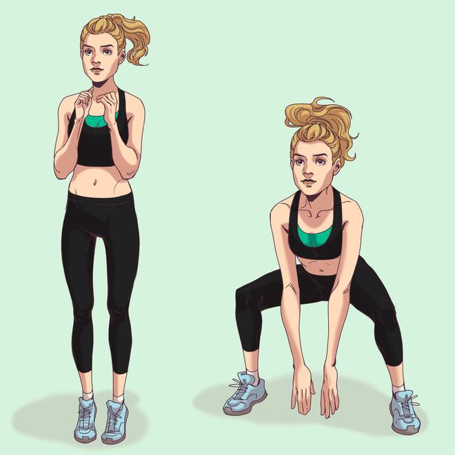 10 động tác thể dục giúp bạn có vòng 3 đẹp tuyệt mỹ tựa như thiên thần Victorias Secret - Ảnh 4.