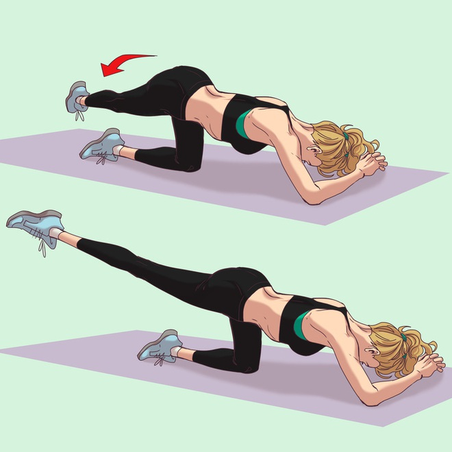 10 động tác thể dục giúp bạn có vòng 3 đẹp tuyệt mỹ tựa như thiên thần Victorias Secret - Ảnh 5.