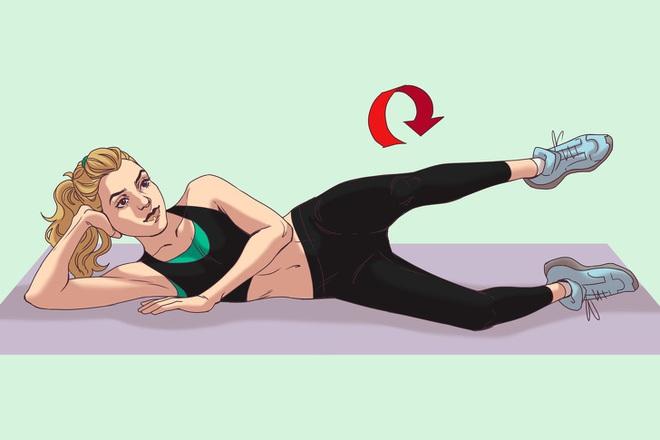 10 động tác thể dục giúp bạn có vòng 3 đẹp tuyệt mỹ tựa như thiên thần Victorias Secret - Ảnh 9.
