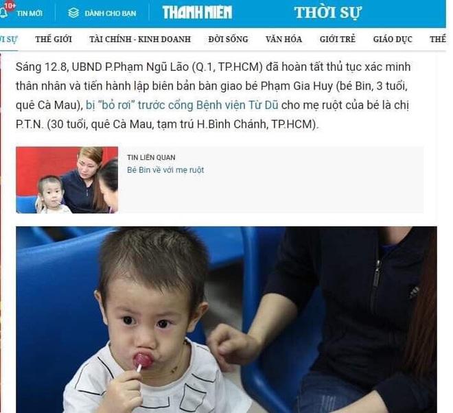 Phẫn nộ trước việc tin giả lấy hình ảnh bé trai câu like rẻ tiền trên facebook - Ảnh 3.