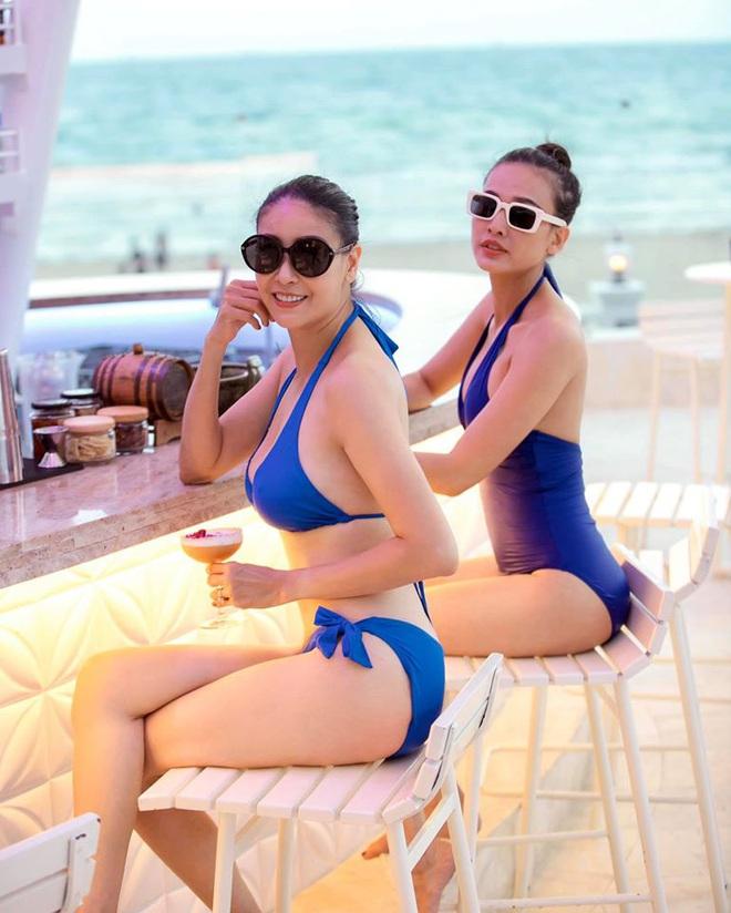 Thân hình nóng bỏng khó tin ở tuổi 43 của hoa hậu Hà Kiều Anh - Ảnh 4.