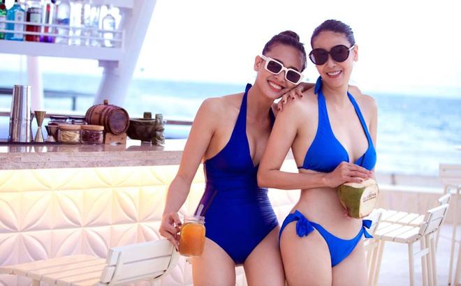 Thân hình nóng bỏng khó tin ở tuổi 43 của hoa hậu Hà Kiều Anh