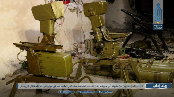 Phiến quân đánh chặn, quân đội Syria bỏ cả sát thủ diệt tăng Nga để chạy thoát - Ảnh 3.