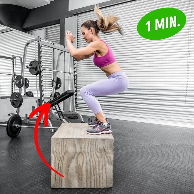Bài tập giúp bạn có đôi chân săn chắc như siêu mẫu, đốt mỡ toàn thân chỉ với 20 phút - Ảnh 3.