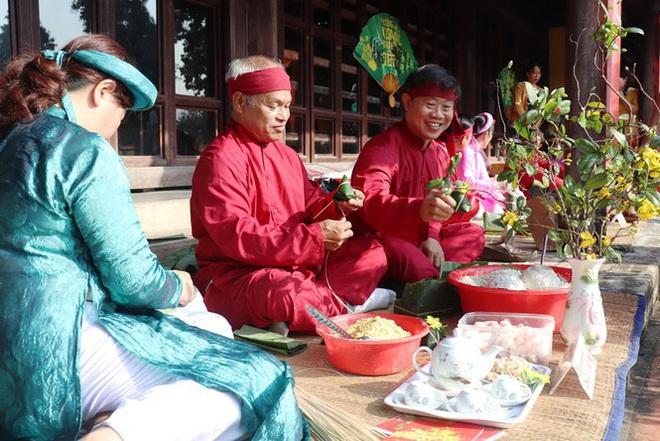 Mãn nhãn với 'Hương xưa bánh Tết' trong Hoàng cung Huế - Ảnh 5.