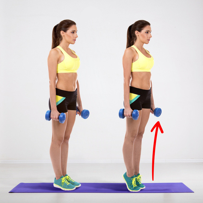 Bài tập giúp bạn có đôi chân săn chắc như siêu mẫu, đốt mỡ toàn thân chỉ với 20 phút - Ảnh 5.