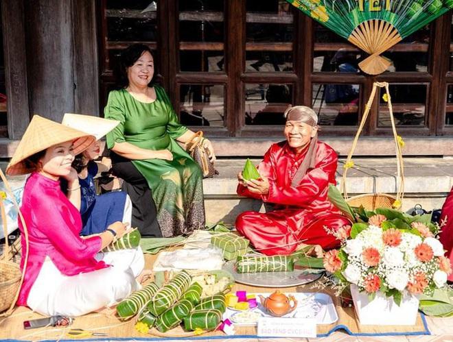 Mãn nhãn với 'Hương xưa bánh Tết' trong Hoàng cung Huế - Ảnh 7.
