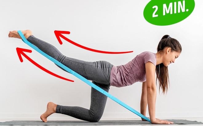Bài tập giúp bạn có đôi chân săn chắc như siêu mẫu, đốt mỡ toàn thân chỉ với 20 phút