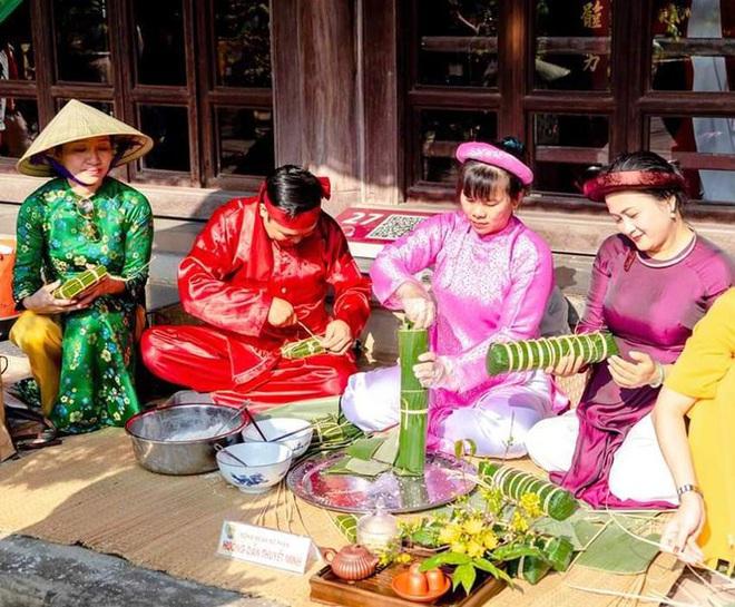 Mãn nhãn với 'Hương xưa bánh Tết' trong Hoàng cung Huế - Ảnh 10.