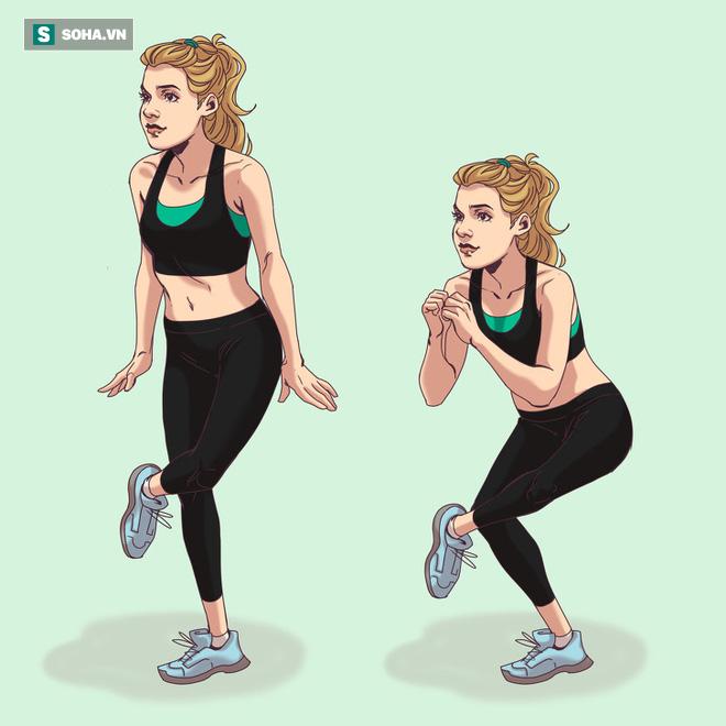 10 động tác thể dục giúp bạn có vòng 3 đẹp tuyệt mỹ tựa như thiên thần Victorias Secret - Ảnh 2.