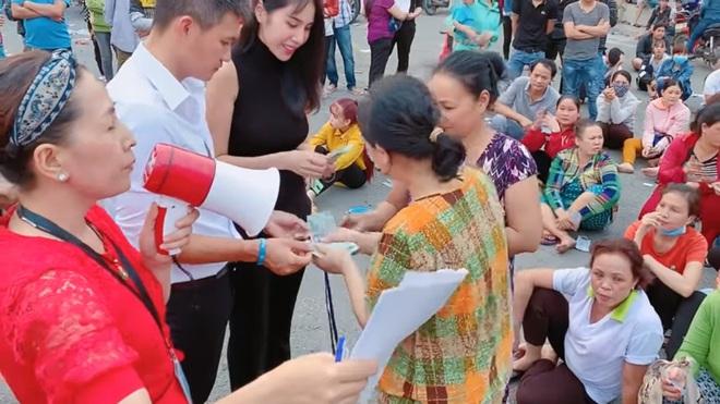 Thủy Tiên, Công Vinh cầm 1 tỷ tiền mặt cứu giúp công nhân bị nợ lương Tết, ai cũng xúc động - Ảnh 5.