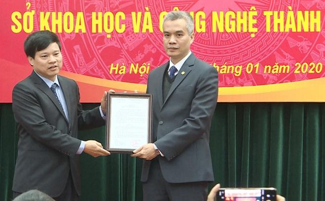 Sở Khoa học và Công nghệ Hà Nội có tân Giám đốc