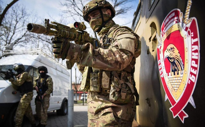 Tiết lộ đơn vị bí mật của Lực lượng đặc nhiệm Nga