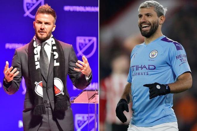 Beckham rút ruột Man City, đưa Aguero và Silva sang Mỹ - Ảnh 1.