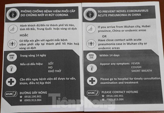 Chống virus corona: Giám sát chặt khách quốc tế tại sân bay Tân Sơn Nhất - Ảnh 4.