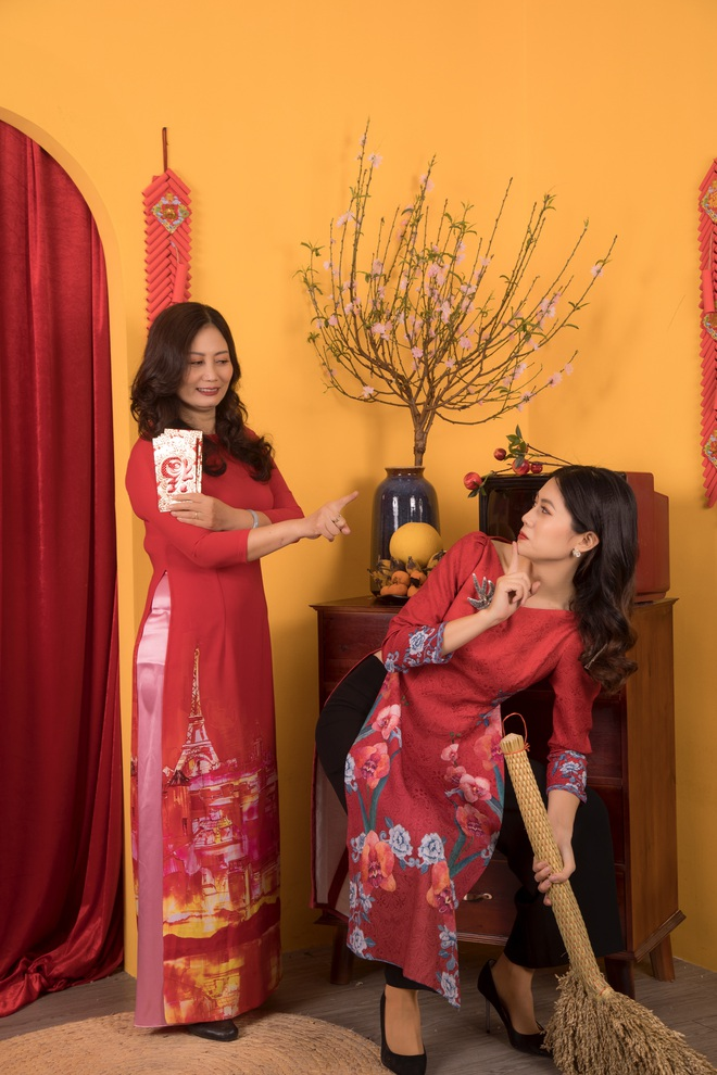 Hoa hậu Vũ Hương Giang ám ảnh khi bị hỏi chuyện chồng con dịp Tết - Ảnh 7.