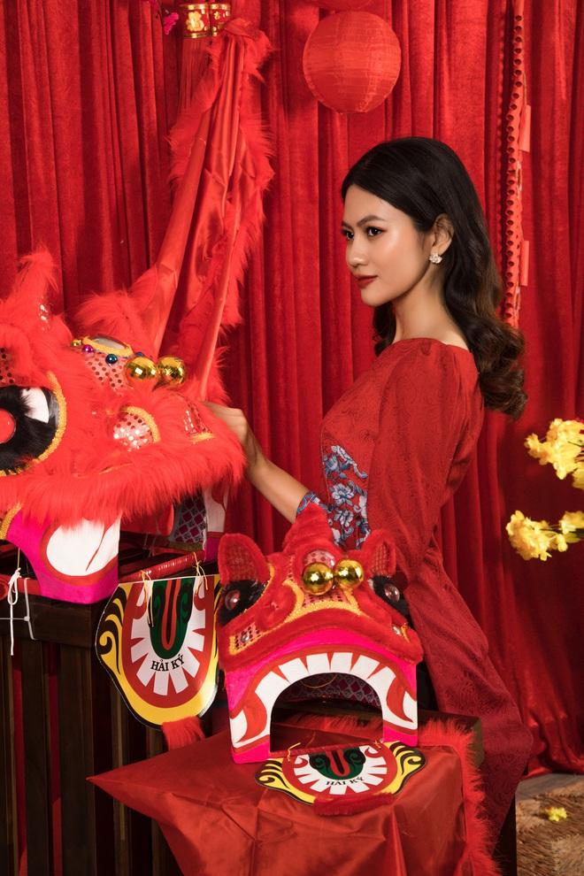 Hoa hậu Vũ Hương Giang ám ảnh khi bị hỏi chuyện chồng con dịp Tết - Ảnh 3.