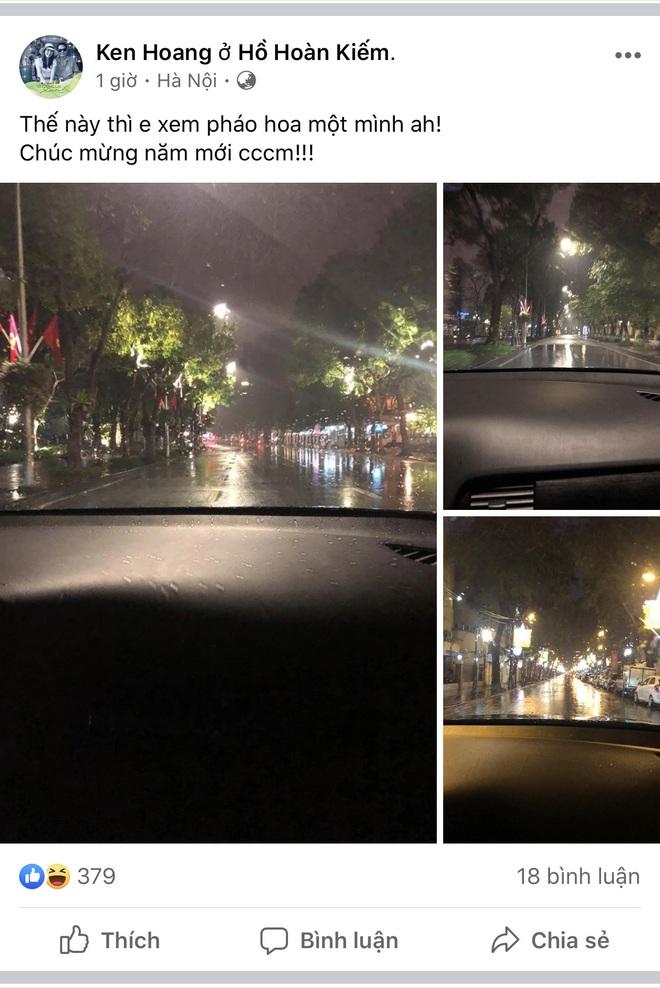 Hà Nội vừa xảy ra mưa đá, cả mạng xã hội nháo nhào: Đêm 30 Tết lạ kỳ - Ảnh 5.