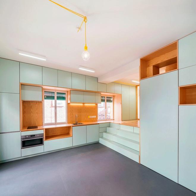Độc đáo căn hộ 33 m2 có thể tháo lắp mọi thứ như một trò xếp hình - Ảnh 5.