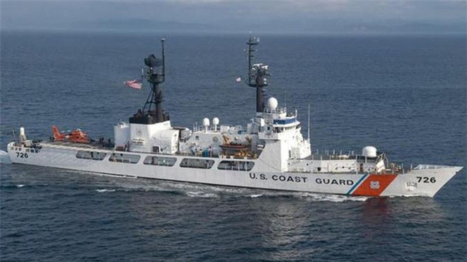 [ẢNH] Cảnh sát biển Việt Nam thăm tàu tuần tra USCGC John Midgett sắp được Mỹ bàn giao - Ảnh 12.