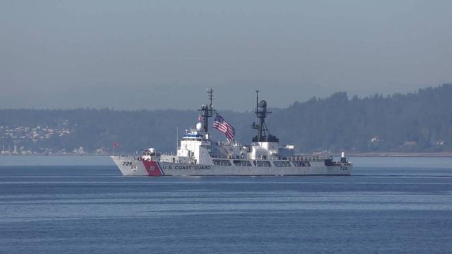 [ẢNH] Cảnh sát biển Việt Nam thăm tàu tuần tra USCGC John Midgett sắp được Mỹ bàn giao - Ảnh 13.