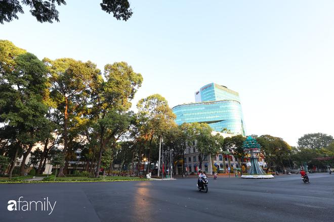 Chùm ảnh cực phẩm 1 năm chỉ có 1 lần cảnh đường phố Sài Gòn vắng vẻ khác lạ, cảm giác quá đỗi thanh bình vào sáng mùng 1 Tết - ảnh 9