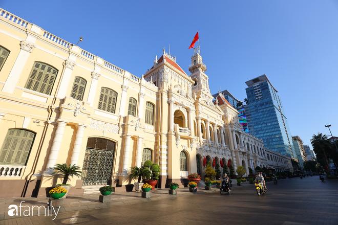 Chùm ảnh cực phẩm 1 năm chỉ có 1 lần cảnh đường phố Sài Gòn vắng vẻ khác lạ, cảm giác quá đỗi thanh bình vào sáng mùng 1 Tết - ảnh 16