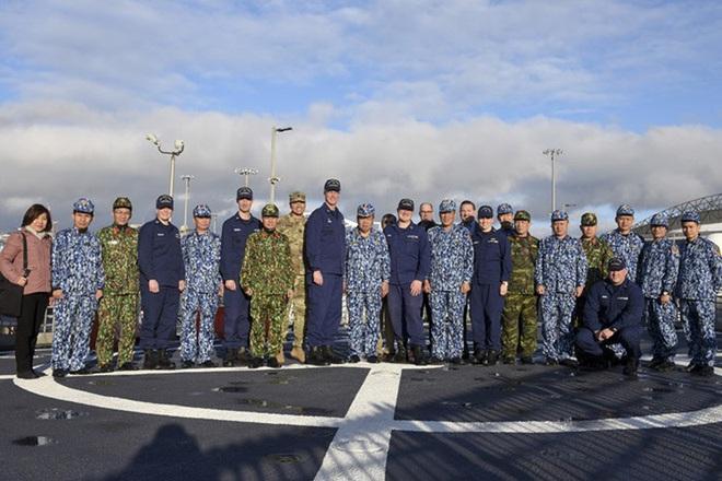 [ẢNH] Cảnh sát biển Việt Nam thăm tàu tuần tra USCGC John Midgett sắp được Mỹ bàn giao - Ảnh 4.