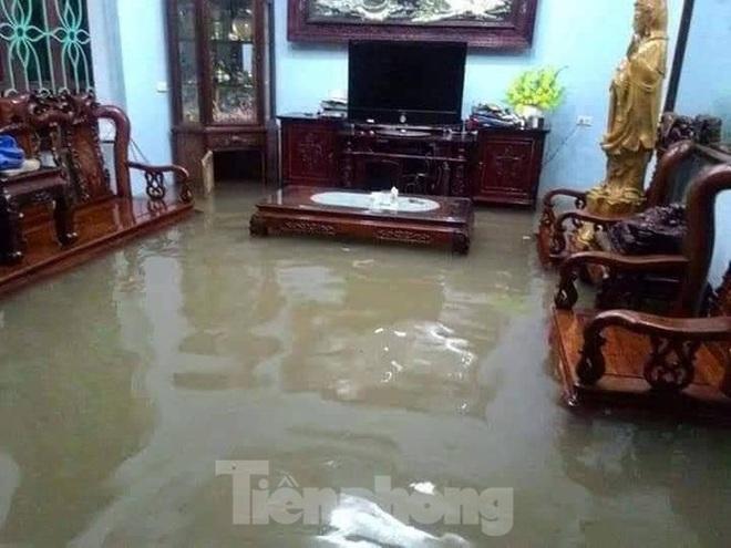 Nam Định ngập sâu, người dân thúc thủ trong nhà ngày mùng 1 Tết - Ảnh 6.