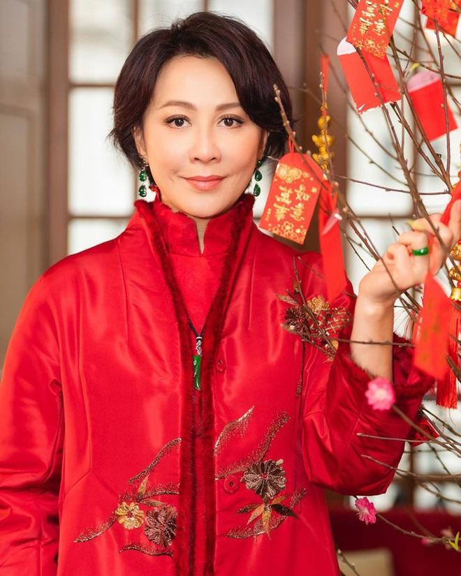 Lưu Gia Linh, Dương Mịch, Angelababy rạng ngời đón xuân - Ảnh 7.