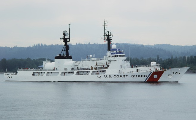[ẢNH] Cảnh sát biển Việt Nam thăm tàu tuần tra USCGC John Midgett sắp được Mỹ bàn giao - Ảnh 9.