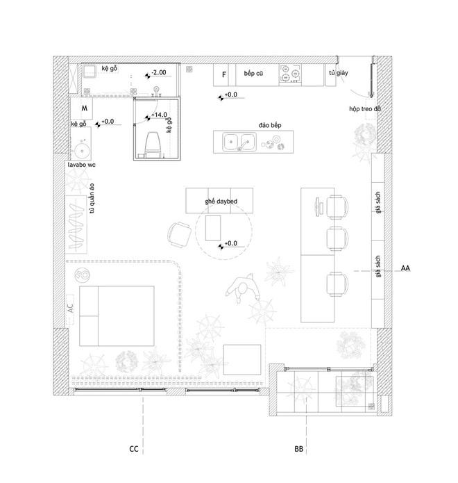 Tp.HCM: Mãn nhãn với căn hộ ngập tràn ánh sáng tự nhiên sau khi được cải tạo - Ảnh 10.
