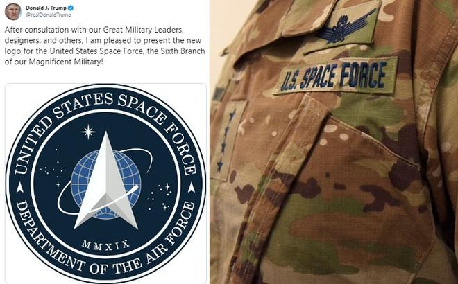 Điều bí ẩn nằm sau phù hiệu Lực lượng Không gian mới của Mỹ