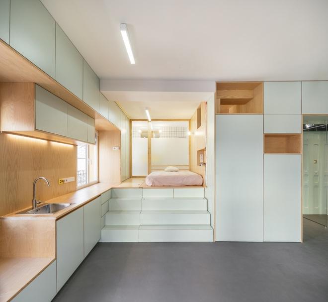 Độc đáo căn hộ 33 m2 có thể tháo lắp mọi thứ như một trò xếp hình - Ảnh 6.