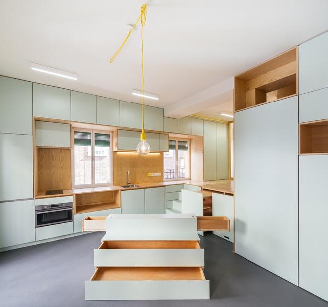 Độc đáo căn hộ 33 m2 có thể tháo lắp mọi thứ như một trò xếp hình - Ảnh 11.