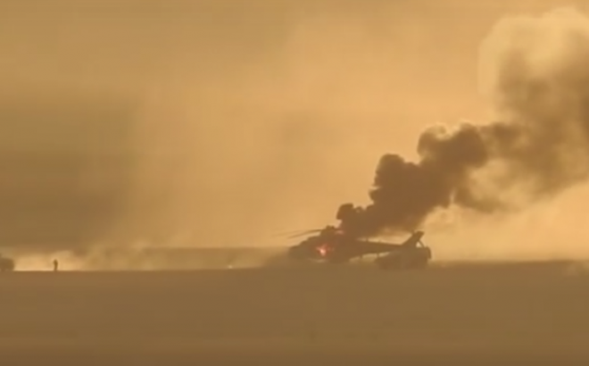 Trực thăng Mi-8 với phi hành đoàn người Ukraine bất ngờ bị súng chống tăng RPG bắn hạ