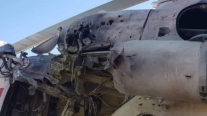 Trực thăng Mi-8 với phi hành đoàn người Ukraine bất ngờ bị súng chống tăng RPG bắn hạ - Ảnh 3.