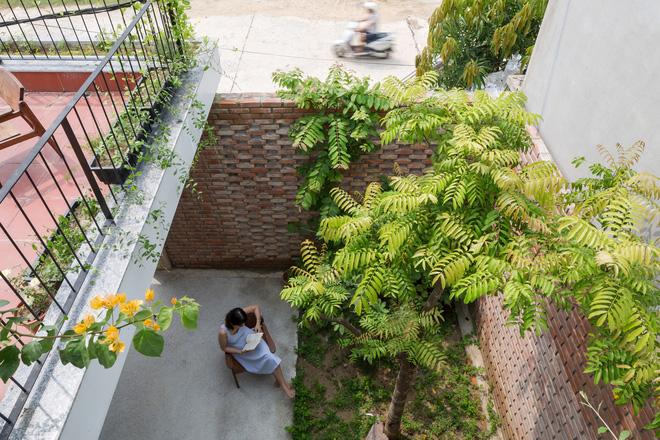 Lối kiến trúc độc đáo của ngôi nhà phố tại Hà Tĩnh - Ảnh 4.