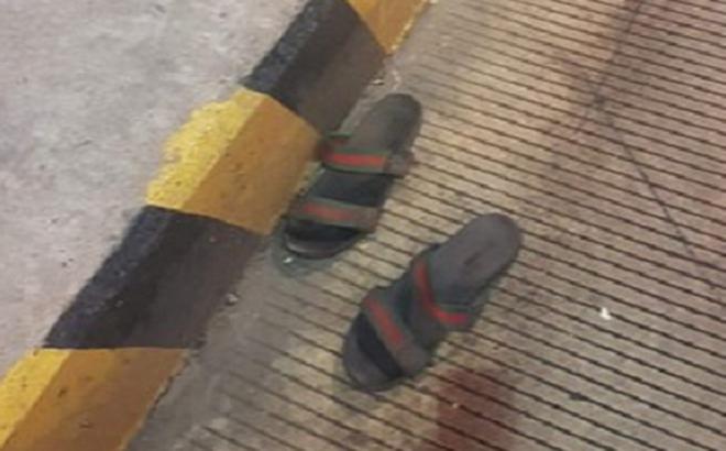 Tên cướp trạm thu phí cao tốc Long Thành – Dầu Giây bỏ lại đôi dép