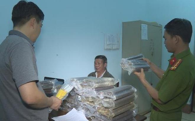 Phát hiện vụ vận chuyển thuốc nổ và kíp mìn lớn nhất từ trước đến nay ở Đắk Lắk