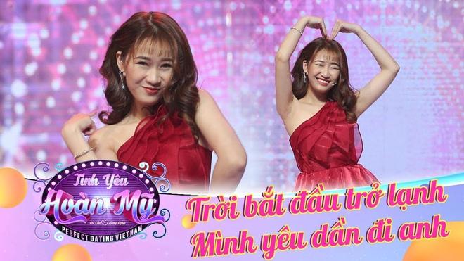 Hot girl World Cup Linh Kul từ chối lời tỏ tình của 2 thành viên nhóm Uni5 trong show hẹn hò - Ảnh 1.