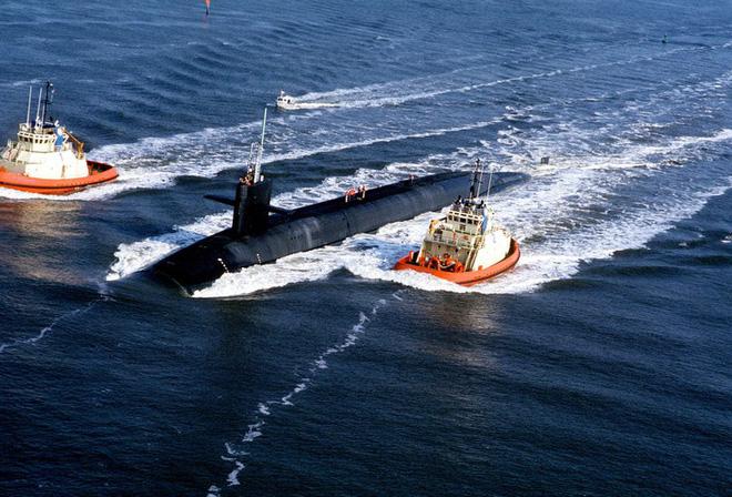 Tàu ngầm hạt nhân Mỹ tuần tra với đầu đạn hạt nhân mới - Ảnh 7.