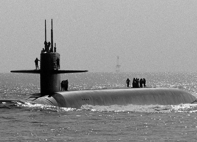 Tàu ngầm hạt nhân Mỹ tuần tra với đầu đạn hạt nhân mới - Ảnh 9.