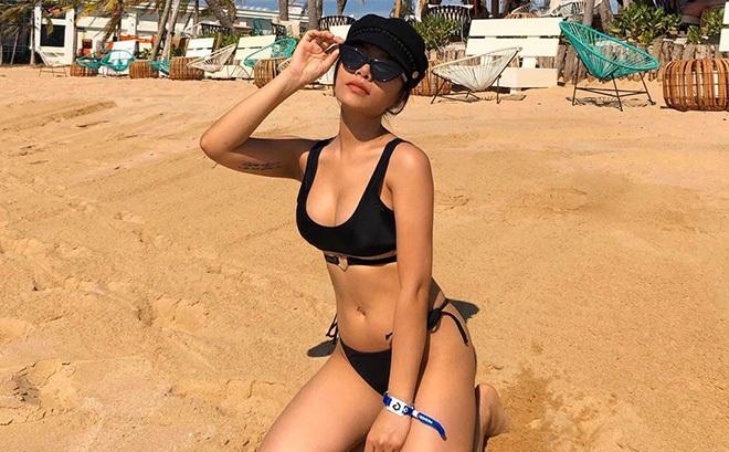 Cháu gái nổi tiếng của Vũ Thu Phương thích khoe ảnh bikini nóng bỏng